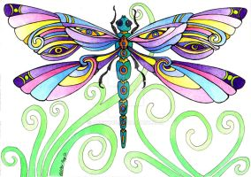 Dragonfly 18Aug12 by Artwyrd