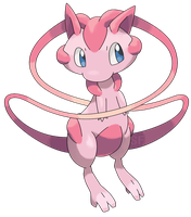 Mega Mew by Smiley-Fakemon