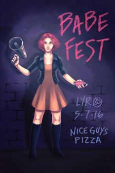 LYR Babefest Poster by Mischavie