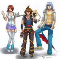 Kingdom Hearts III Concepts by lady-leliel