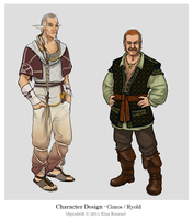 Character - Cimos and Ryold by ElsaKroese