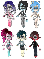 Xynthii: Adopts: Auction: CLOSED by ObsceneBarbie