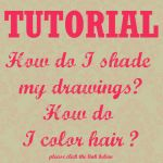 Tutorial - How to shade - How to color hair by Katikut
