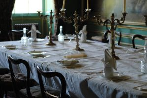 Belton House Dining Room by MaePhotography2010