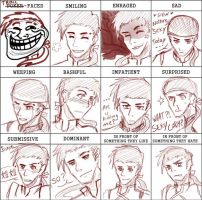 Expression Meme: Shun Huo by Ayumon29