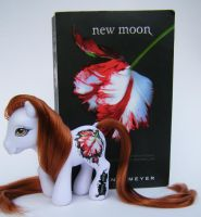 OOAK Twilight MLP New Moon by eponyart