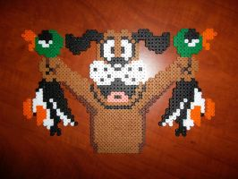 Perler Bead Duck Hunt Dog by EP-380