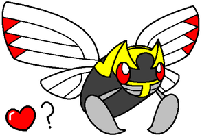 Wild Ninjask Appeared by DeathToSquishies