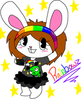 Rainbowz HTF .:RQ:. by InvaderAbbey
