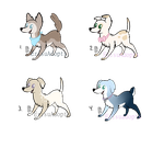 Doggy Adopts (OPEN) by Aledera-Adopts