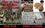 Stop The War Feed The Poor by brainhiccup