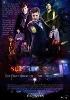 SuperWhoLock movie poster, version 1 by Iwan888