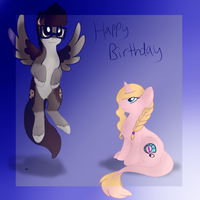 Happy birthday elaine by Letipup