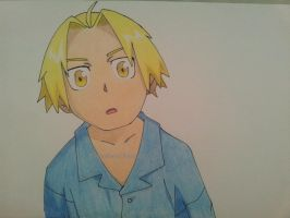 Little Edward Elric by Dibujosrocio