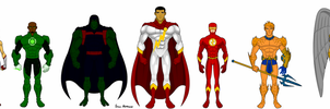 Earth's Mightiest Heroes... With John Stewart by SplendorEnt