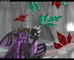 In the Crystal Cave. by Skaylina