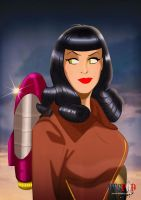 Betty Rocketeer by DESPOP