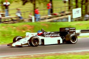 Philippe Streiff (Great Britain Tyre Test 1986) by F1-history