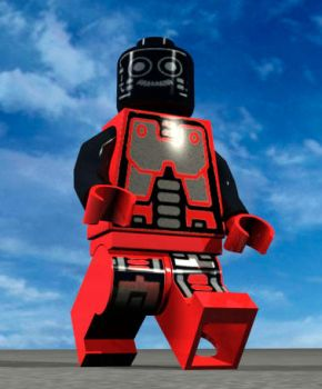 Legoman 'The robot' by DarklogicDesign