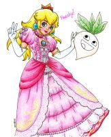Princess Peach by MomoTheEmoPeach