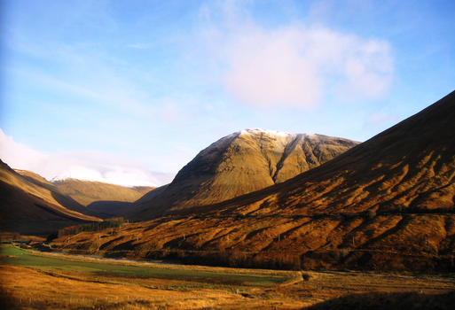 Scottish Highlands by falling-home