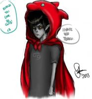 Karkat With Dragon Hood by Arascadae