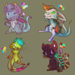 Mispi Adopts! - Batch 2 by Snow-ish