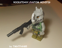 LEGO CUSTOM : TMNT Rocksteady by TMNTFAN85