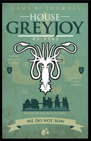 Game of Thrones - House Greyjoy by GoJoeThibaultGo