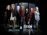 Big Four and Frozen X Teen Wolf by JackFrostOverland