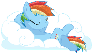 Dashie Chillin' by Star--Sprout