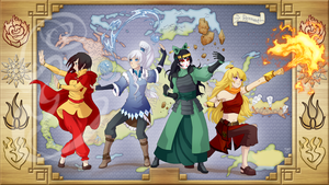 Dustbenders: The Legend of RWBY by TheRogueSPiDER