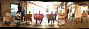 Figure Drawing Session by theartdepartment