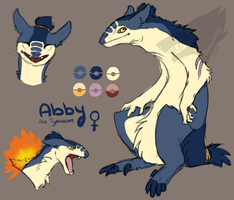 Abby the Typhlosion by Atumney