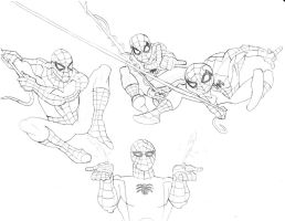 The Ultimate Spectacular Spider-Man Brawl by homer311
