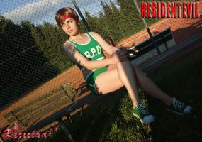Rebecca Chambers RE Basketball cosplay IV by Rejiclad