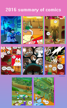 2016 Summary Of Comics by Strontium-Chloride