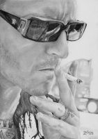 Chester Bennington by fishbone0102