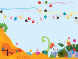 LocoRoco Wallpaper by Starcharms