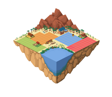 Desert Map Mockup by AnirBrokenear