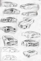 Random sketches by MartinEDesign