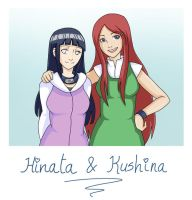 Hinata and Kushina - Request by Capsidia-Here