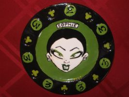 Zombie Girl Plate 03 Front by Gummibearboy