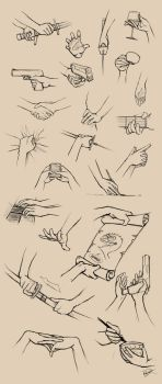 Hands Reference II by Ninjatic