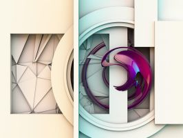 Abstract shape 10 by paulcorfield