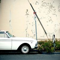 car and wall by willko
