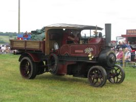 A steam wagon (powered by logs water ...and air) by sk4n-t3ch