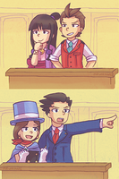 courtroom assistant swap by Azurane