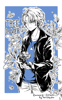 [Commission] Tree lover by Thamtuviet4869