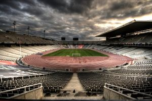 olympic stadium barcelona 3 by Jh2